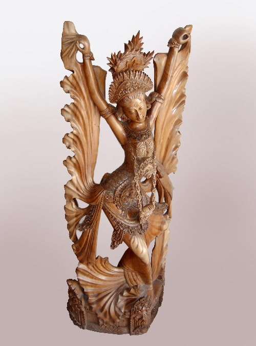 Bali Wood Statue